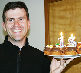 Matt turns 13 ... er, 31!