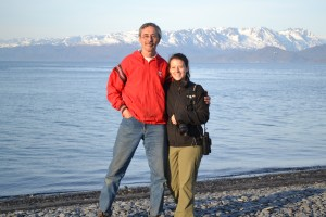 John and Melissa in Homer, AK