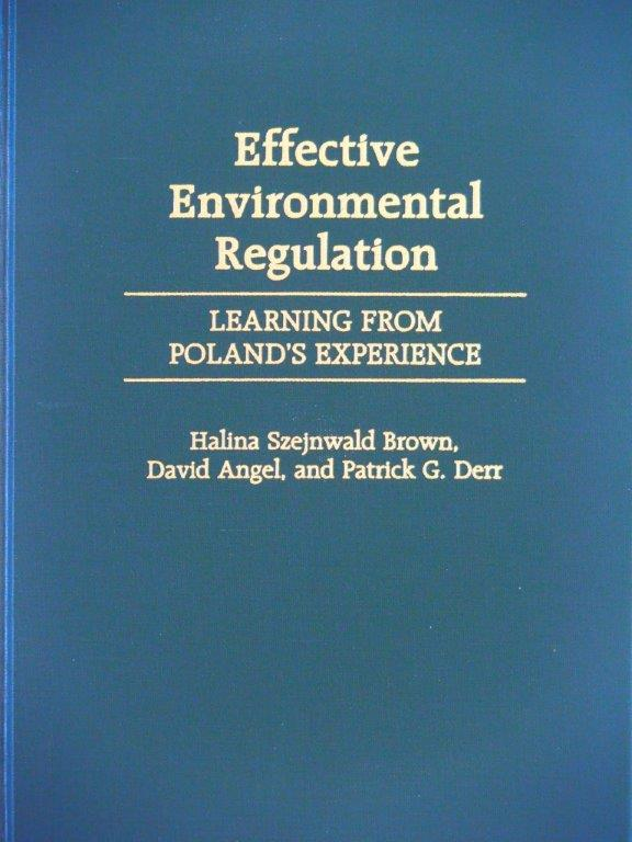 Effective Environmental Regulation