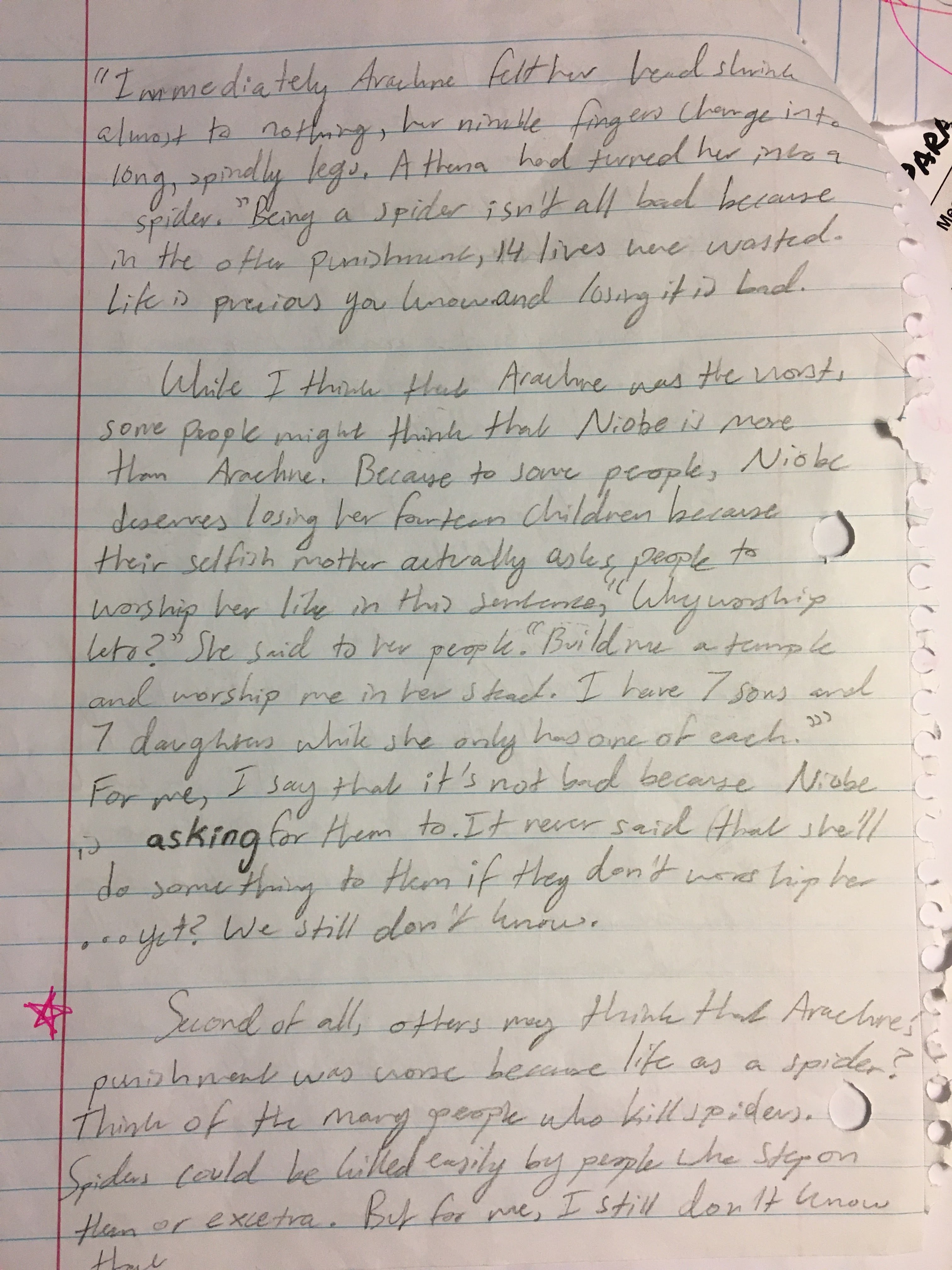 quote ace response essay example This paragraph is only 5 sentences (if you include a quote), yet it does a great job (1) introducing the superiority of the argued position, (2) giving examples from the passage to support a specific idea, and (3) concluding the paragraph.