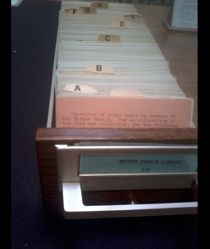 Arbour Card Catalog