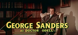 Gratuitous George Sanders shot. (Click image to watch the trailer for The Scarlet Coat.)