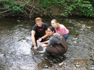 Doug, Katie, and I on our first
